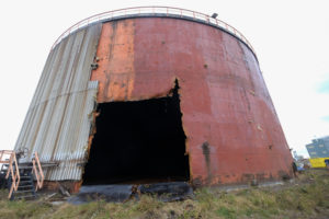 Decommissioning Tank Project